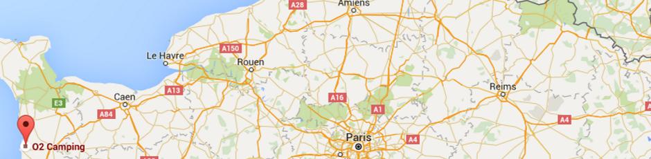 Google Maps o2camping