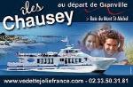 Vedette Jolie France - Iles Chausey au départ de Granville