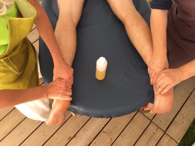Camping massage Manche