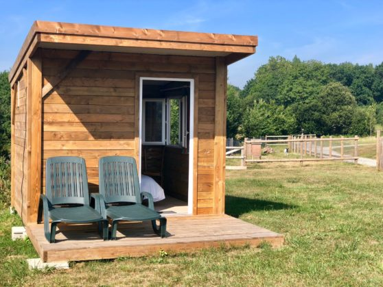 Location cabane camping Normandie