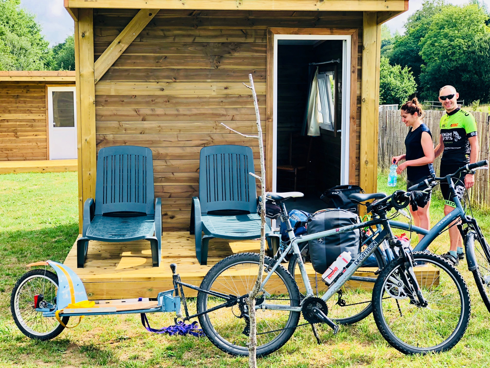 Location cabane camping Longueville