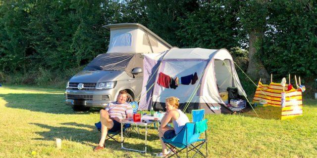 Pitch camping Mont Saint Michel